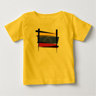 Venezuela Brush Flag Baby T-Shirt