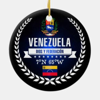 Venezuela Ceramic Ornament