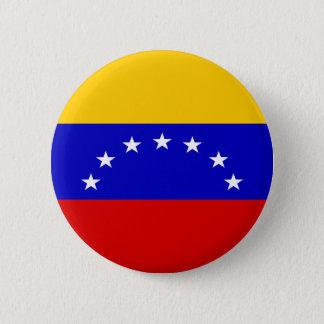Venezuela Flag 6 Cm Round Badge