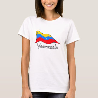 Venezuela Flag 7 Stars and Original Coat of Arms T-Shirt
