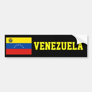 Venezuela flag bumper sticker
