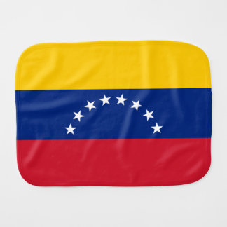 Venezuela Flag Burp Cloth
