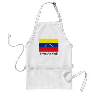 Venezuela flag chef apron