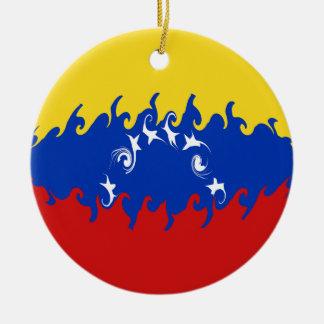 Venezuela Gnarly Flag Ornaments