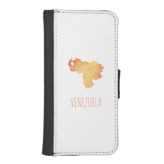 Venezuela iPhone SE/5/5s Wallet Case