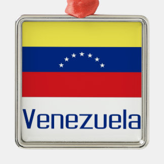 Venezuela Metal Ornament