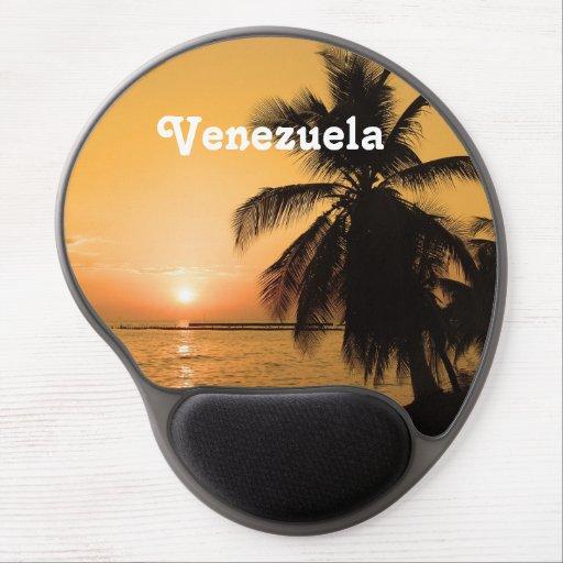 Venezuela Sunset Gel Mousepads