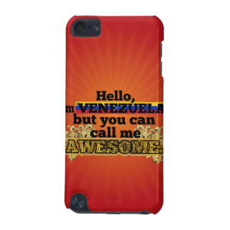 Venezuelan, but call me Awesome iPod Touch (5th Generation) Covers