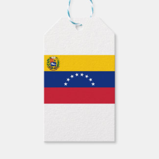 Venezuelan Flag - Flag of Venezuela - Bandera Gift Tags