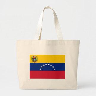 Venezuelan Flag - Flag of Venezuela - Bandera Large Tote Bag