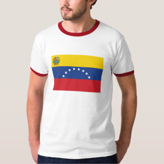 Venezuelan Flag Ringer T-Shirt