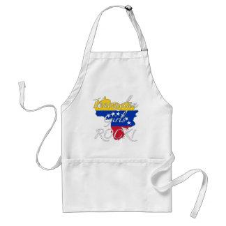 Venezuelan Girls Rock! Standard Apron