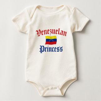Venezuelan Princess Baby Bodysuit