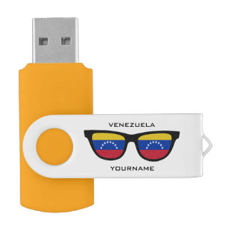 Venezuelan Shades custom USB drives