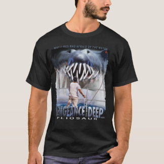 Vengeance from the Deep - Pliosaur - Black T-shirt