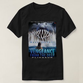 Vengeance - Pliosaur Black T-Shirt 1