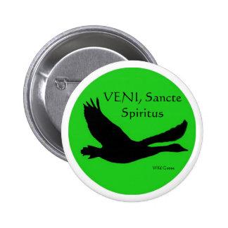 VENI Sancte Spiritus Button - Customise with your
