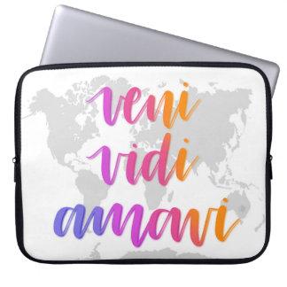 Veni Vidi Amavi Laptop Sleeve