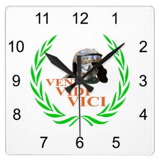 Veni Vidi Vici Clock