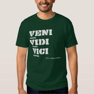 Veni Vidi Vici, Gaius, Julius, Caesar, -SFG Pro... T Shirt