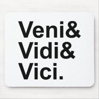 Veni Vidi Vici | I Came, I Saw, I Conquered Caesar Mouse Pad