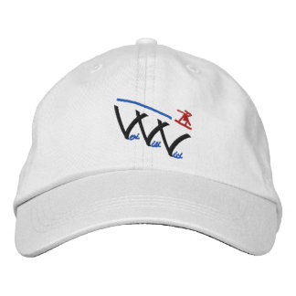 veni vidi vici snowboarder embroidered hats
