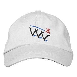 veni vidi vici snowboarder embroidered hat