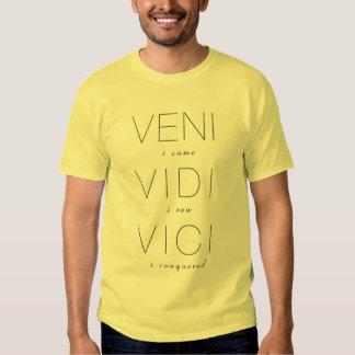 Veni, Vidi, Vici Tee Shirt
