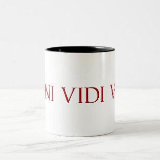 Veni Vidi Vici Two-Tone Mug