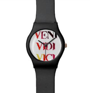 Veni Vidi Vici Watch