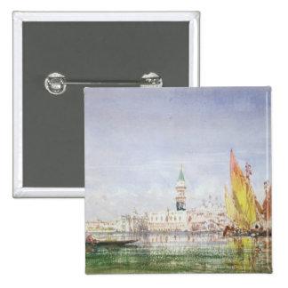 Venice 15 Cm Square Badge