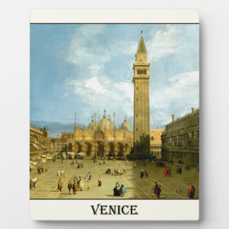 Venice 1720 plaque