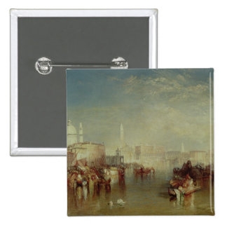 Venice, 1840 15 cm square badge