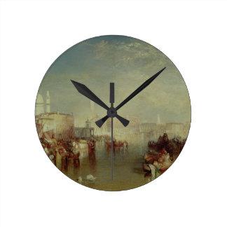Venice, 1840 round clock