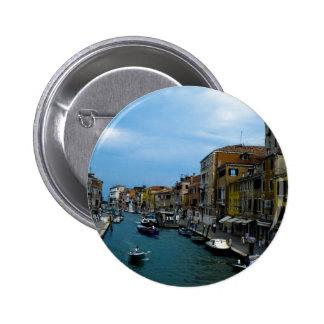 Venice 2 6 cm round badge