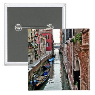Venice Alleyway 15 Cm Square Badge