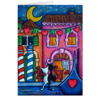 """""""Venice Amore"""" Valentines Day Card"""