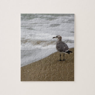 Venice Beach Bird Jigsaw Puzzle