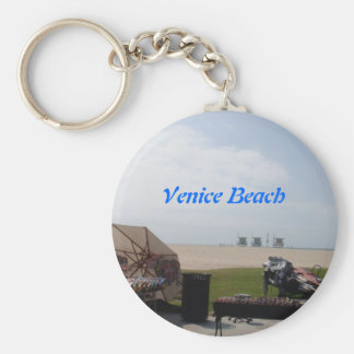 Venice Beach, California Key Ring