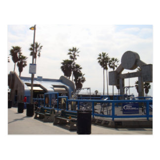 Venice Beach, California Postcard