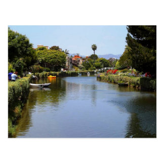 Venice Beach Canals, Los Angeles Postcard