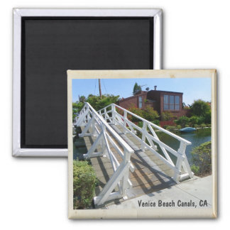 Venice Beach Canals Magnet! Square Magnet