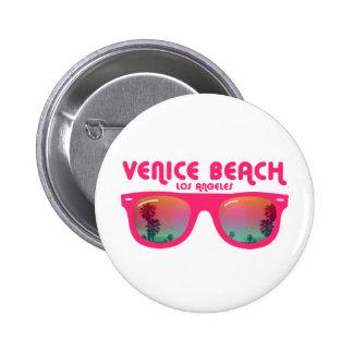 Venice beach Los Angeles 6 Cm Round Badge