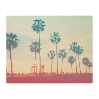 Venice beach wood canvases