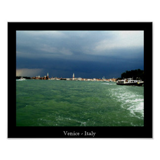 Venice Before a storm Poster