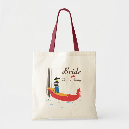 Venice Bride Tote Bag