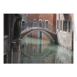 Venice bridge - notecard greeting card