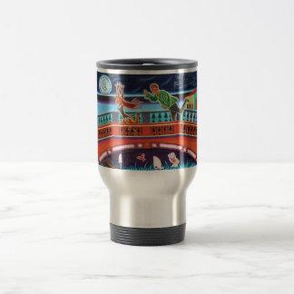 Venice bridge of sighs chase travel mug