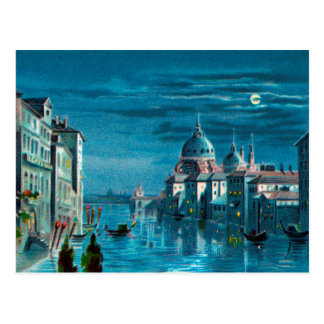 Venice by Moonlight Postcard