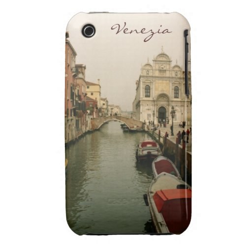 Venice Canal 3/3GS Cas-Mate Barely There Case Case-Mate iPhone 3 Cases